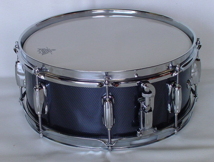 Carbon Fiber Finish Snare Drum